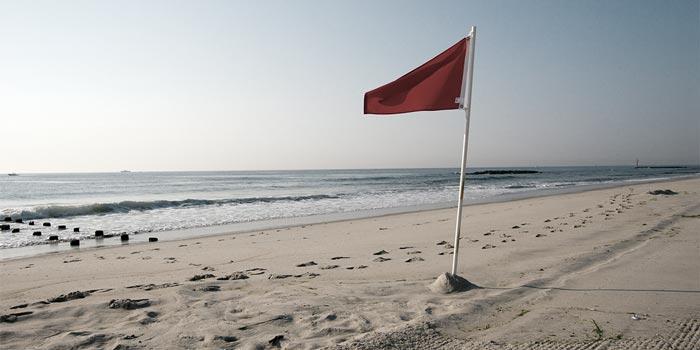 Flag on the beach   Atradius